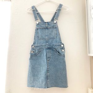H&M Divided Denim Overall Dress XS